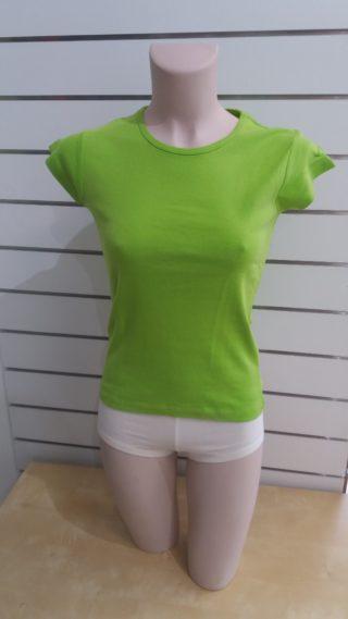 US Basic Naisten T-paita Vihreä