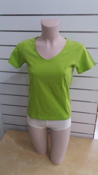 US Basic Naisten V-Aukko T-Paita