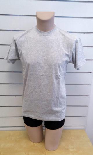 US Basic Miesten T-paita Meleerattu Harmaa