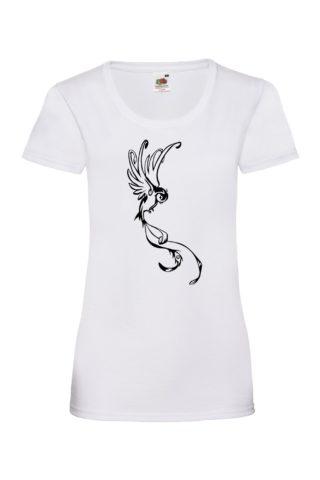 BIRD Naisten Valueweight T-paita