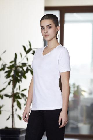 Cottover Naisten V-aukko T-paita