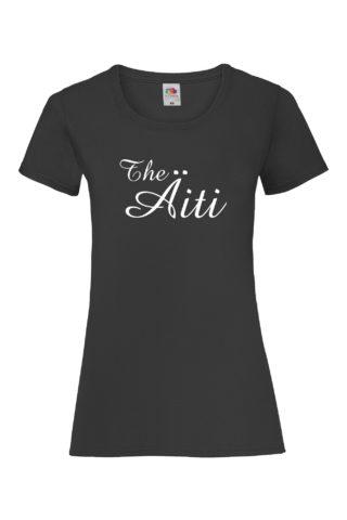 THE ÄITI Naisten Valueweight T-paita
