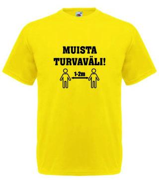 MUISTA TURVAVÄLI Valueweight T-paita