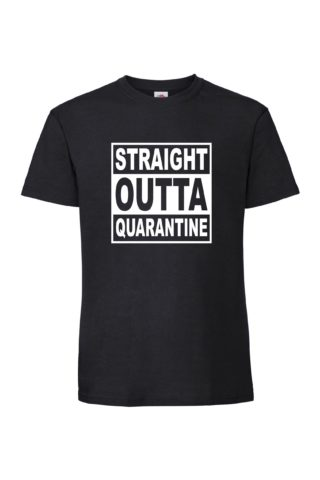 STRAIGHT OUTTA QUARANTINE Valueweight T-paita